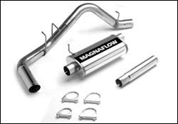 Exhaust - MagnaFlow - MagnaFlow - Magnaflow Cat-Back Exhaust System with Single Rear Side Exit - 15656