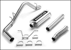 Exhaust - MagnaFlow - MagnaFlow - Magnaflow Cat-Back Exhaust System with Rear Side Exit - 15657