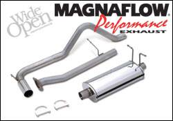 Exhaust - MagnaFlow - MagnaFlow - Magnaflow Cat-Back Exhaust System with Rear Side Exit - 15661