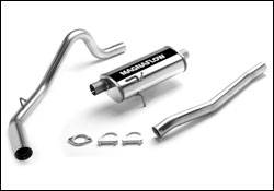Exhaust - MagnaFlow - MagnaFlow - Magnaflow Cat-Back Exhaust System with Rear Side Exit - 15679