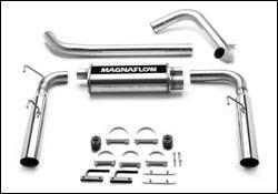 Exhaust - MagnaFlow - MagnaFlow - Magnaflow Cat-Back Exhaust System with Rear Exit - 15684