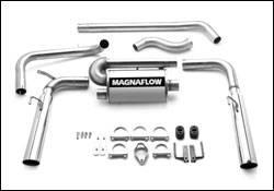 Exhaust - MagnaFlow - MagnaFlow - Magnaflow Cat-Back Exhaust System - 15694