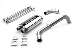 Exhaust - MagnaFlow - MagnaFlow - Magnaflow Cat-Back Exhaust System with Dual Inlet Muffler - 15699