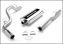 Exhaust - MagnaFlow - MagnaFlow - Magnaflow Cat-Back Exhaust System with Single Inlet Muffler - 15700