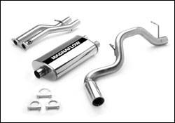 Exhaust - MagnaFlow - MagnaFlow - Magnaflow Cat-Back Exhaust System with Dual Inlet Muffler - 15701