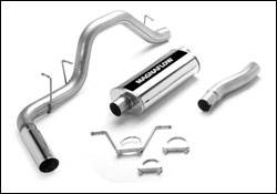 Exhaust - MagnaFlow - MagnaFlow - Magnaflow Cat-Back Exhaust System with Rear Side Exit - 15737