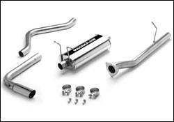 Exhaust - MagnaFlow - MagnaFlow - Magnaflow Cat-Back Exhaust System with Rear Side Exit - 15777