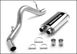 Exhaust - MagnaFlow - MagnaFlow - Magnaflow Cat-Back Exhaust System with Rear Side Exit - 15782