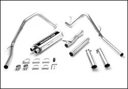 Exhaust - MagnaFlow - MagnaFlow - Magnaflow Cat-Back Exhaust System with Dual Split Rear Exit Pipes - 15788