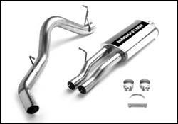 Exhaust - MagnaFlow - MagnaFlow - Magnaflow Cat-Back Exhaust System with Rear Side Exit - 15789