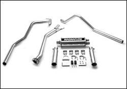 Exhaust - MagnaFlow - MagnaFlow - Magnaflow Cat-Back Exhaust System with 4 Inch Turbo-Back Pipe - 15792