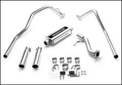 Exhaust - MagnaFlow - MagnaFlow - Magnaflow Cat-Back Exhaust System with Dual Split Rear Exit Pipes - 15794