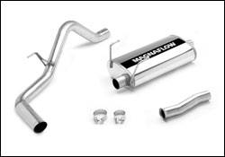 Exhaust - MagnaFlow - MagnaFlow - Magnaflow Cat-Back Exhaust System with Rear Side Exit - 15809