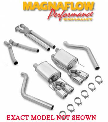 Exhaust - MagnaFlow - MagnaFlow - MagnaFlow Exhaust System 15821