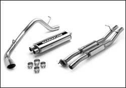 Exhaust - MagnaFlow - MagnaFlow - Magnaflow Cat-Back Exhaust System with Rear Side Exit - 15838