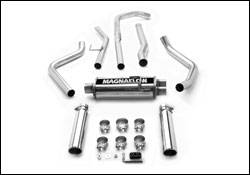 Exhaust - MagnaFlow - MagnaFlow - Magnaflow Cat-Back Exhaust System with Dual Split Rear Exit Pipes - 15849