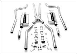 Exhaust - MagnaFlow - MagnaFlow - Magnaflow Cat-Back Exhaust System with 2.5 Inch Pipe - 15851