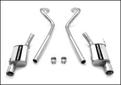 Exhaust - MagnaFlow - MagnaFlow - Magnaflow Cat-Back Exhaust System with Dual Exit Pipes - 15881