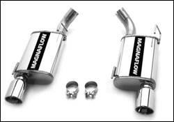 Exhaust - MagnaFlow - MagnaFlow - Magnaflow Cat-Back Exhaust System Muffler Replacement - 15882