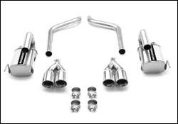 Exhaust - MagnaFlow - MagnaFlow - Magnaflow Cat-Back Exhaust System - Axle-Back Only - 15886