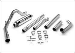 Exhaust - MagnaFlow - MagnaFlow - Magnaflow Performance Series 4 Inch Exhaust System with Turbo-Back Tuner - 15915