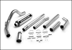 Exhaust - MagnaFlow - MagnaFlow - Magnaflow XL Series 4 Inch Exhaust System with Turbo-Back Tuner - 15928