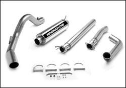 Exhaust - MagnaFlow - MagnaFlow - Magnaflow Performance Series 4 Inch Exhaust System with Turbo-Back Tuner - 15931
