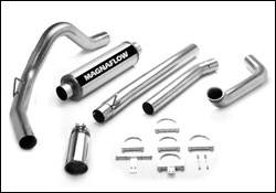 Exhaust - MagnaFlow - MagnaFlow - Magnaflow XL Series Exhaust System with Turbo-Back Tuner - 15942