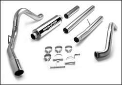 Exhaust - MagnaFlow - MagnaFlow - Magnaflow Performance Series 4 Inch Exhaust System - 15952