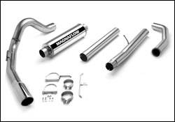 Exhaust - MagnaFlow - MagnaFlow - Magnaflow Performance Series 4 Inch Exhaust System with Turbo-Back Tuner - 15960
