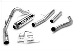 Exhaust - MagnaFlow - MagnaFlow - Magnaflow Performance Series 4 Inch Exhaust System with 4 Inch Turbo-Back Tuner - 15972