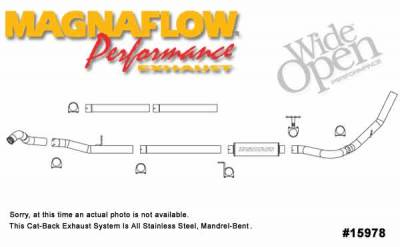 Exhaust - MagnaFlow - MagnaFlow - Magnaflow XL Series 4 Inch Exhaust System - 15978