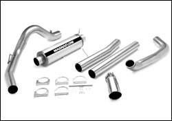 Exhaust - MagnaFlow - MagnaFlow - Magnaflow XL Series Exhaust System with 4 Inch Turbo-Back Tuner - 15981
