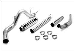 Exhaust - MagnaFlow - MagnaFlow - Magnaflow Performance Series 5 Inch Exhaust System with Turbo-Back Tuner - 15986