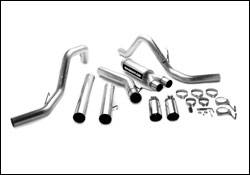 Exhaust - MagnaFlow - MagnaFlow - Magnaflow XL Series 5 Inch Exhaust System with Dual Turbo-Back Tuner - 15990