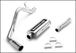 Exhaust - MagnaFlow - MagnaFlow - Magnaflow Cat-Back Exhaust System with Rear Side Exit - 16613
