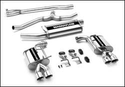 Exhaust - MagnaFlow - MagnaFlow - Magnaflow Cat-Back Exhaust System with Dual Exit Pipes - 16623