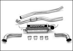 Exhaust - MagnaFlow - MagnaFlow - Magnaflow Cat-Back Exhaust System - 16645