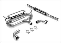 Exhaust - MagnaFlow - MagnaFlow - Magnaflow Cat-Back Exhaust System - 16650