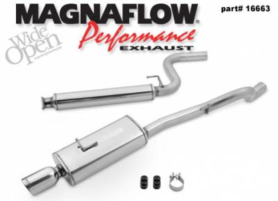 Exhaust - MagnaFlow - MagnaFlow - Magnaflow Cat-Back Exhaust System - 16663