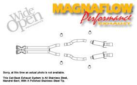 Exhaust - MagnaFlow - MagnaFlow - Magnaflow Cat-Back Exhaust System - 16670