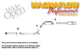 Exhaust - MagnaFlow - MagnaFlow - Magnaflow Cat-Back Exhaust System - 16687