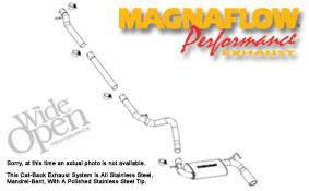 Exhaust - MagnaFlow - MagnaFlow - Magnaflow Cat-Back Exhaust System - 16751