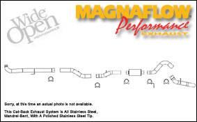 Exhaust - MagnaFlow - MagnaFlow - Magnaflow XL Series 4 Inch Exhaust System - 16902