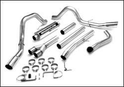 Exhaust - MagnaFlow - MagnaFlow - Magnaflow Performance Series 4 Inch Dual Exhaust System - 16919