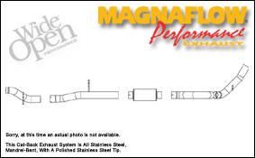 Exhaust - MagnaFlow - MagnaFlow - Magnaflow XL Series 4 Inch Exhaust System - 16945