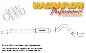 Exhaust - MagnaFlow - MagnaFlow - Magnaflow XL Series 5 Inch Exhaust System - 16949