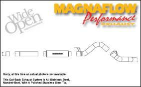 Exhaust - MagnaFlow - MagnaFlow - Magnaflow XL Series 5 Inch Exhaust System with Cat-Back - 16956