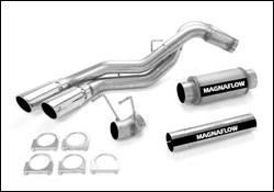Exhaust - MagnaFlow - MagnaFlow - Magnaflow XL Performance Diesel Particulate Filter Series 4 Inch Dual Exhaust System - 16971