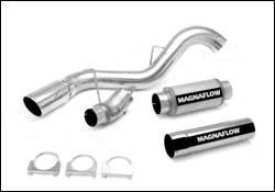 Exhaust - MagnaFlow - MagnaFlow - Magnaflow XL Performance Diesel Particulate Filter Series 5 Inch Exhaust System - 16972